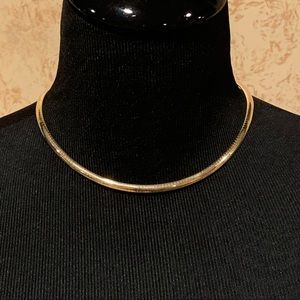 Jewelry - Italian 14k Yellow Gold Omega Necklace